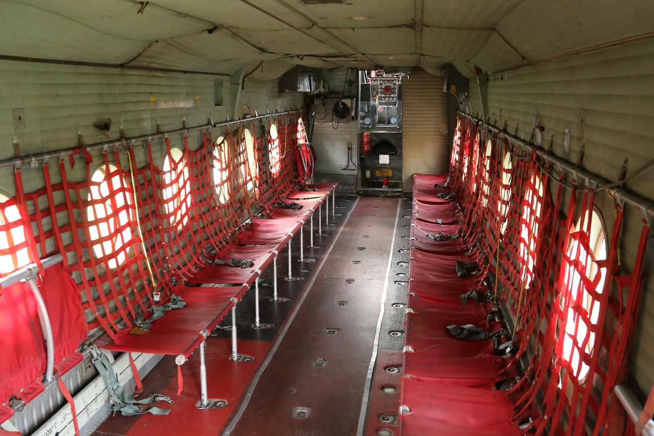 DHC-4 'Caribou' cabin, Мадрид