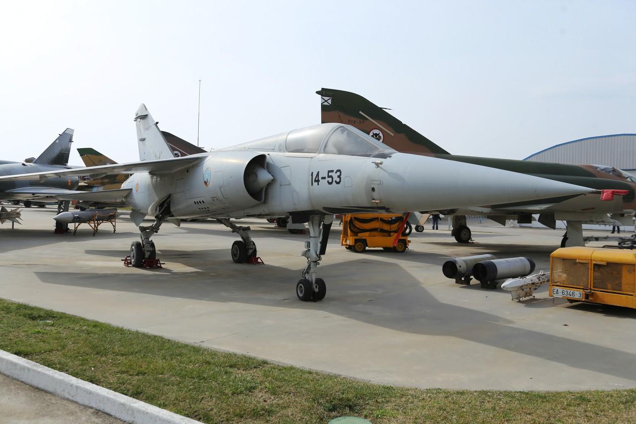 Mirage F1C, Madrid