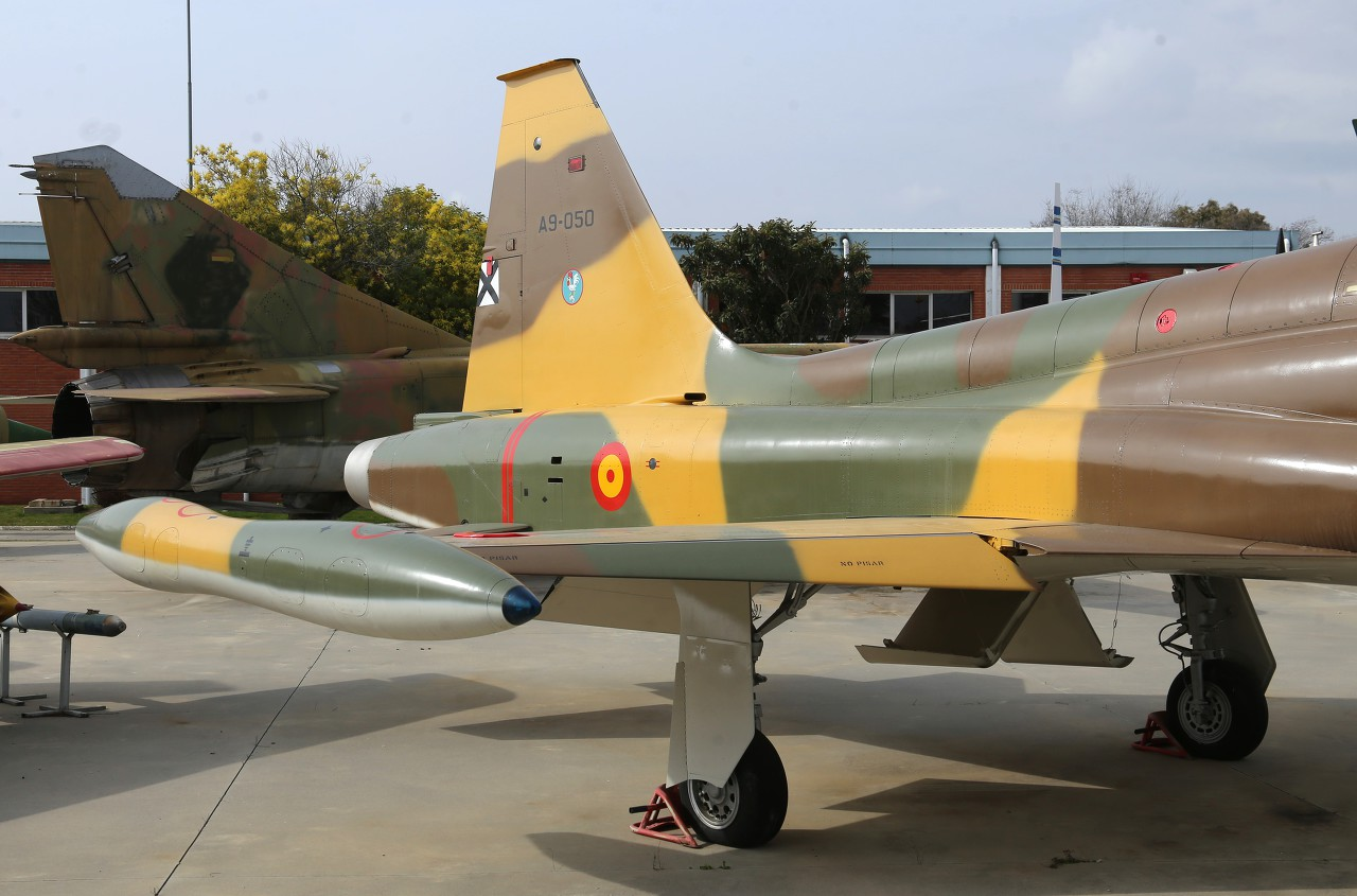 Northrop F-5A, Museo del Aire, Madrid
