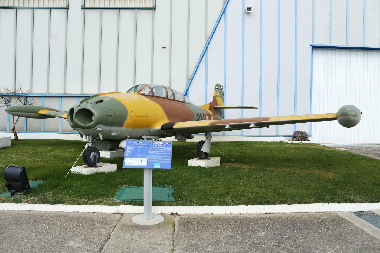 HA-220 Super Saeta, Museo del Aire, Madrid