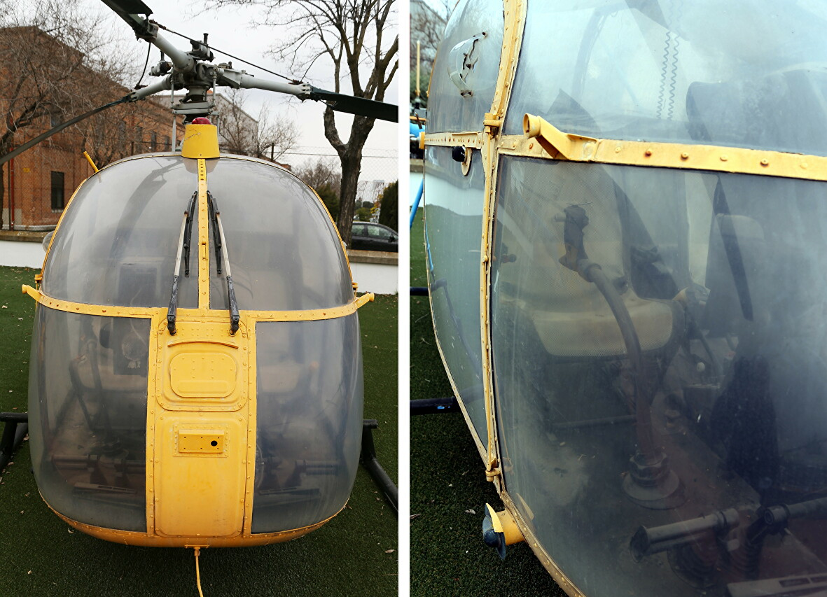 Вертолёт SA-318C Alouette II, Мадридский музей аэроноавтики