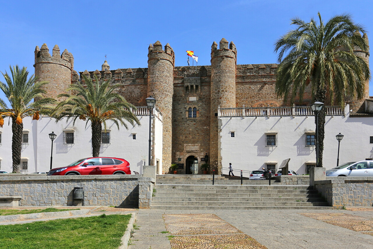 Palace of the Dukes of Feria (Castle of Zafra)